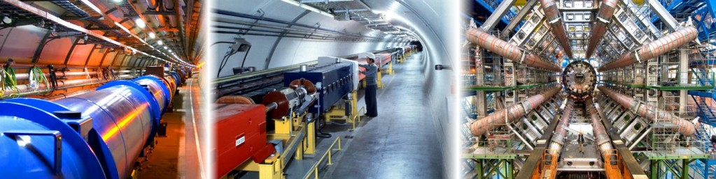 Interior del LHC