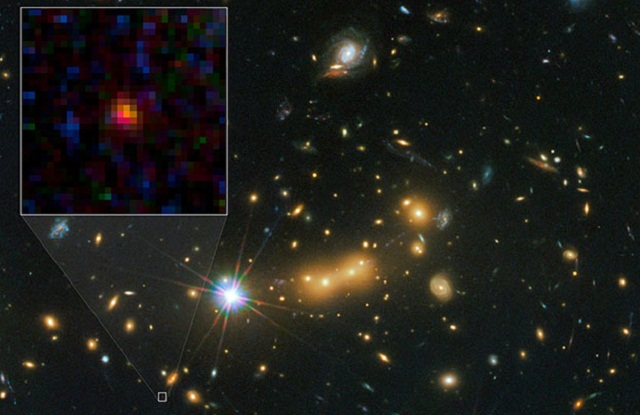 MACS0647-JD, galaxia más lejana