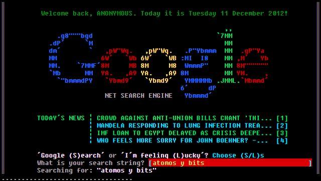 Google estilo años 80