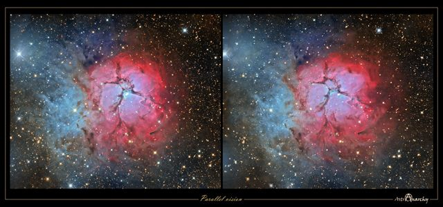 Nebulosa M20 3D