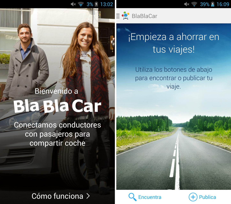 Inicio BlaBlaCar